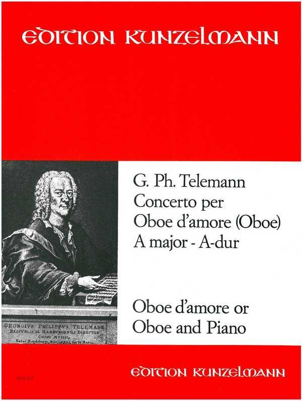 Konzert A-Dur für Oboe d\