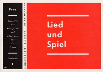 LIED UND SPIEL: HEFT 1, UNTERSTUFE für STABSPIELE UND SCHLAGWERK
