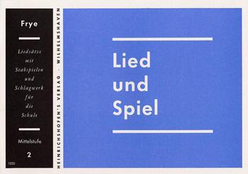 LIED UND SPIEL: HEFT 2, MITTELSTU- FE, für STABSPIELE UND SCHLAGWERK