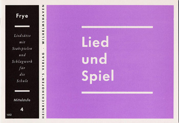 LIED UND SPIEL: HEFT 4, MITTELSTU- FE, FUER STABSPIELE UND SCHLAGWERK