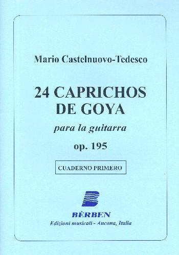 Castelnuovo-Tedesco, Mario - 24 Caprichos de Goya op.195 vol.1