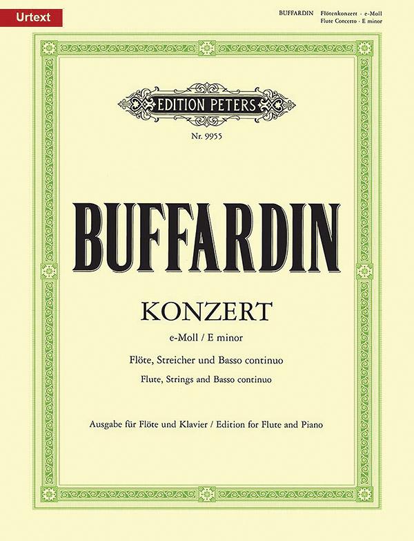 Buffardin, Pierre Gabriel - Concerto e-Moll : für Flöte,
