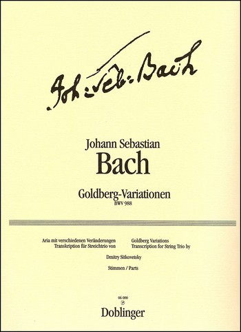Bach, Johann Sebastian - Goldberg-Variationen :