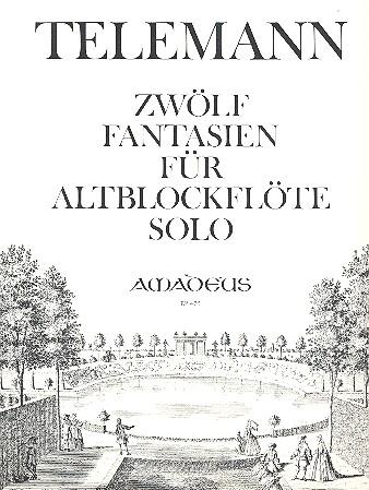 12 Fantasien: für Altblockflöte solo