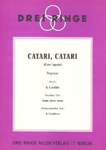 Catari catari: Einzelausgabe