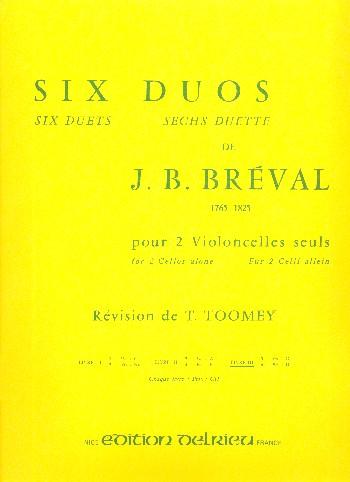 6 duos vol.3: pour 2 violoncelles