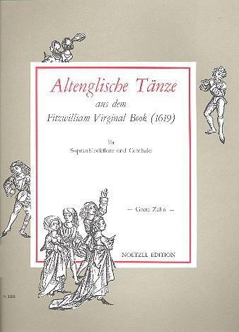 Altenglische Tänze aus dem Fitzwilliam Virginal Book von 1619: