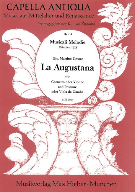 La augustana: für Cornetto, Posaune und Bc