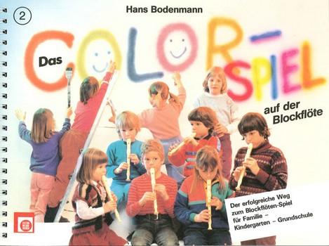 Das Color-Spiel auf der Blockflöte Band 2