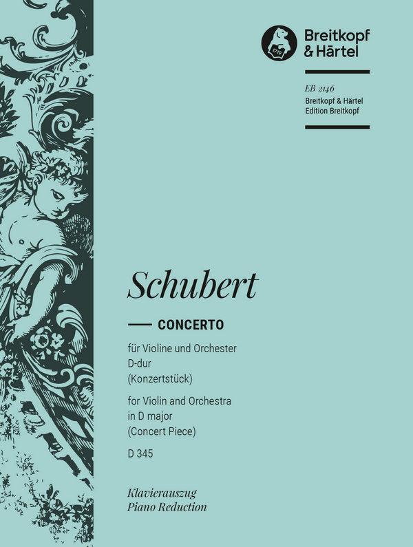 Schubert, Franz - Konzertstück D-Dur D345 für