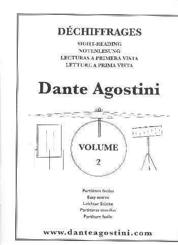 Dechiffrages no.2 sight-reading