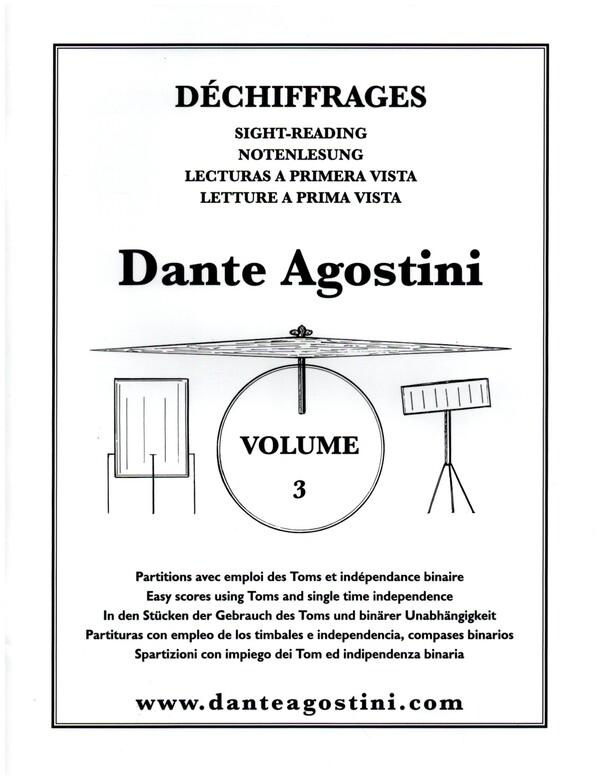 Preparation for Sight-Reading vol.3: dechiffrages pour batterie