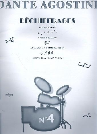 Preparation for Sight-Reading 4: Progressive reading of 600 written
