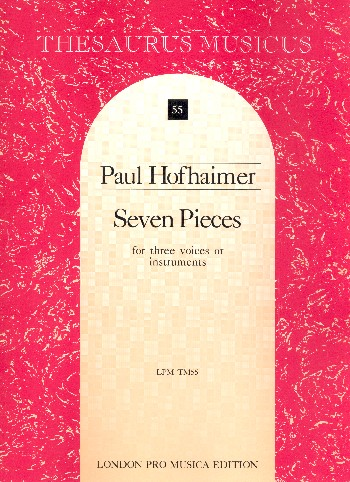 6 Pieces: for 3 instruments or voices
