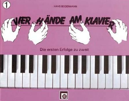 - 4 Hände am Klavier Band 1 :