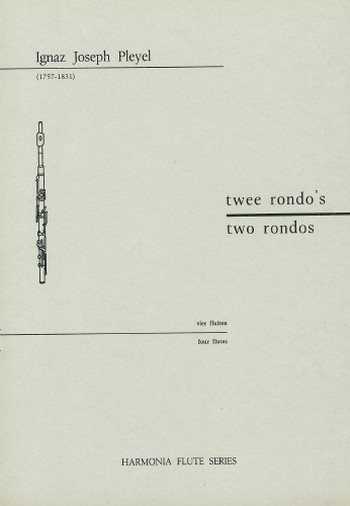 2 Rondos: for 4 flutes score