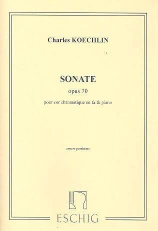 Sonate opus.70: pour cor et piano