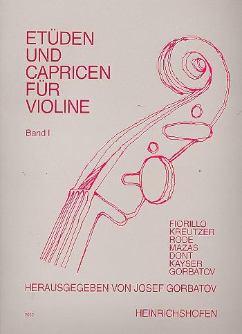 Etüden und Capricen Band 1: für Violine