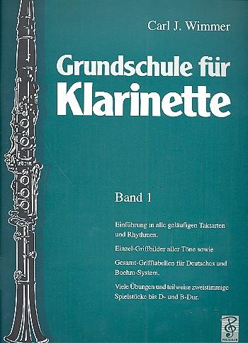 Grundschule für Klarinette Band 1