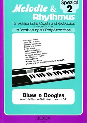 Blues und Boogies: für E-Orgel / Keyboard