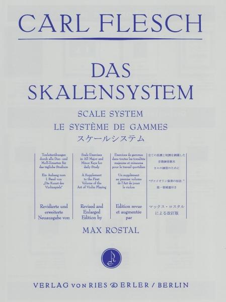 Das Skalensystem: für Violine