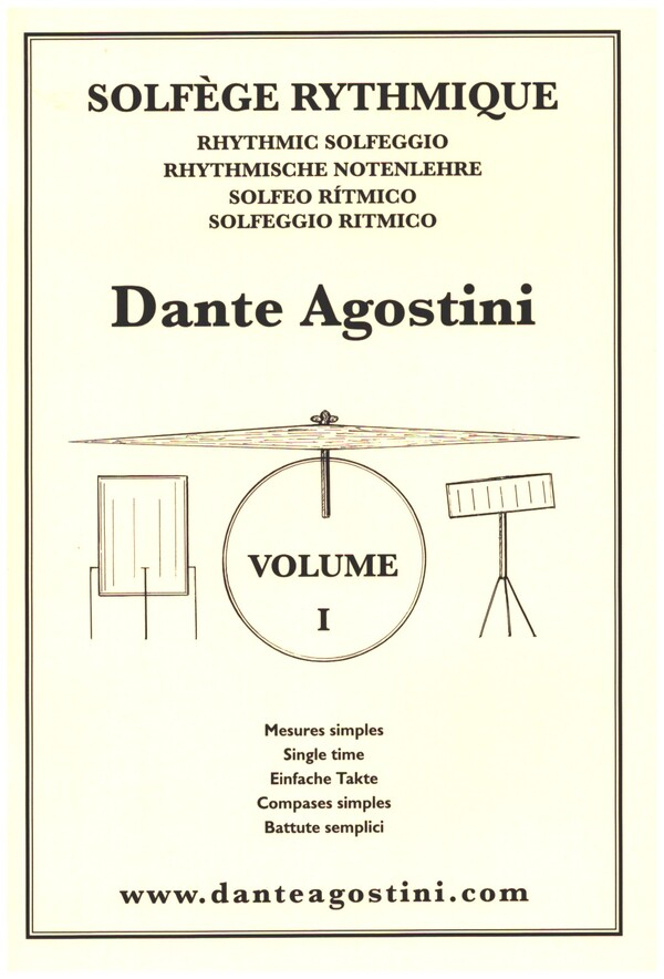 Solfège rhythmique vol.1 Mesures simples