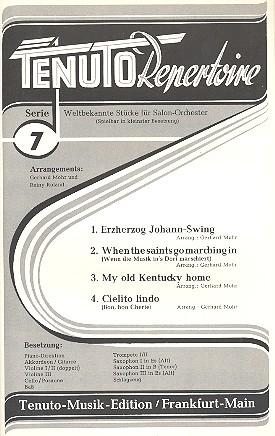 Tenuto Repertoire Serie 7: 4 weltbekannte Stücke für Salonorchester