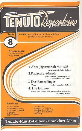 Tenuto Repertoire Serie 8: 4 weltbekannte Stücke für Salonorchester