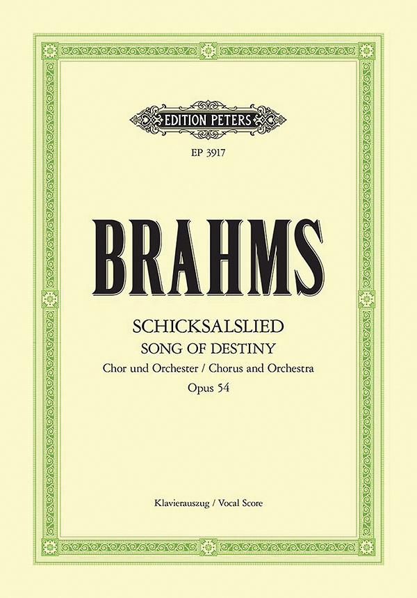 Brahms, Johannes - Schicksalslied op.54 :