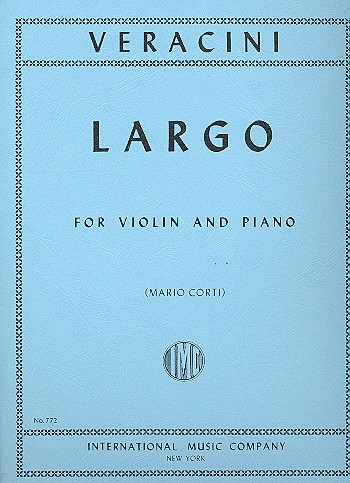 Veracini, Francesco Maria - Largo : for violin and piano