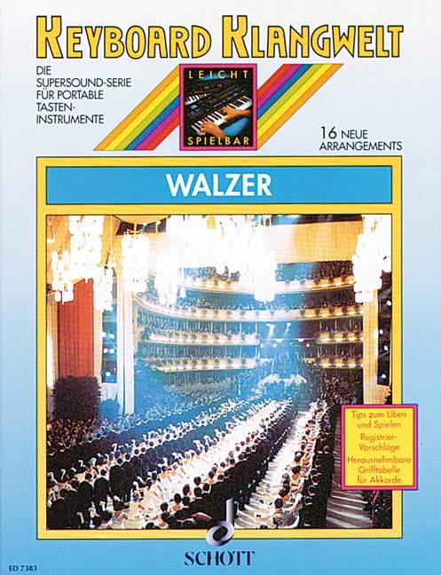 Walzer: 16 neue Arrangements für Keyboard
