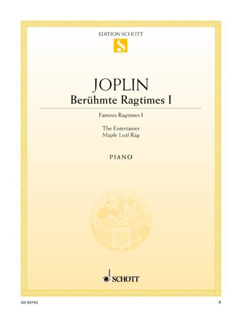 Berühmte Ragtimes Band 1: für Klavier