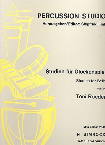 Studien: für Glockenspiel, Cymbales antiques und Röhrenglocken