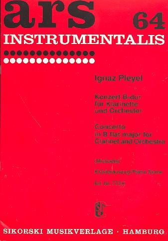 Pleyel, Ignaz Joseph - Konzert B-Dur für Klarinette und