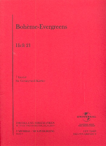 Bohème Evergreens Band 21
