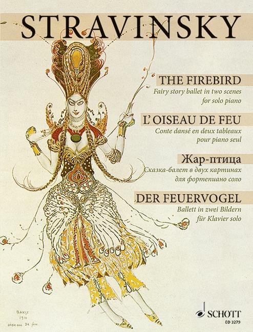 Der Feuervogel: Klavierauszug
