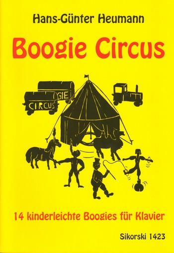 Boogie Circus: 14 kinderleichte Boogies für Klavier