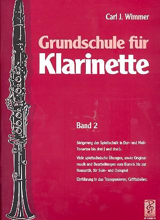 Grundschule für Klarinette Band 2
