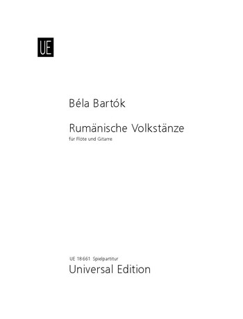 Bartók, Béla - Rumänische Volkstänze :