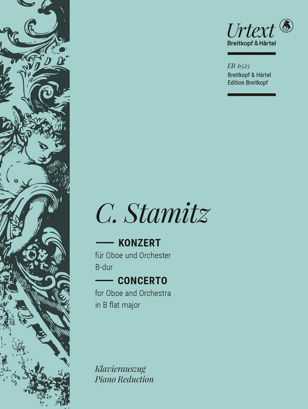 Stamitz, Karl - Konzert B-Dur für Oboe und