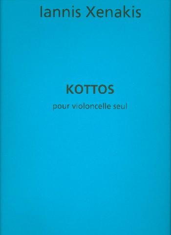Xenakis, Yannis - Kottos : pour violoncelle seule