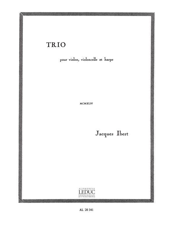 Ibert, Jacques - Trio :