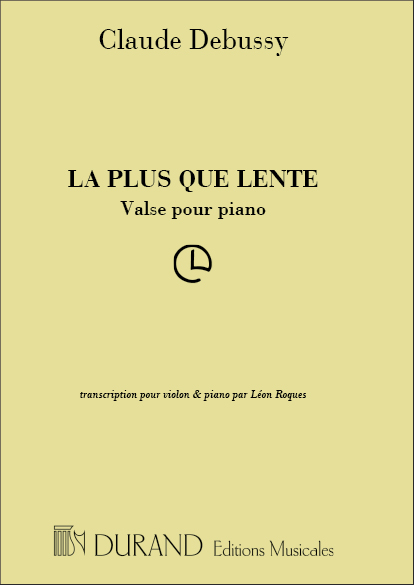 Debussy, Claude - La plus que lente : Valse pour