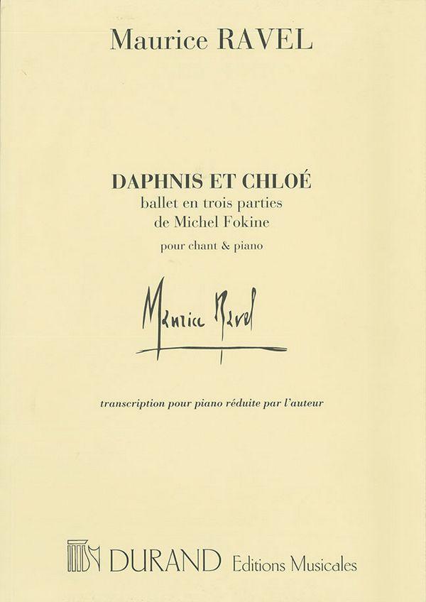 Daphnis et Chloe: ballet en trois