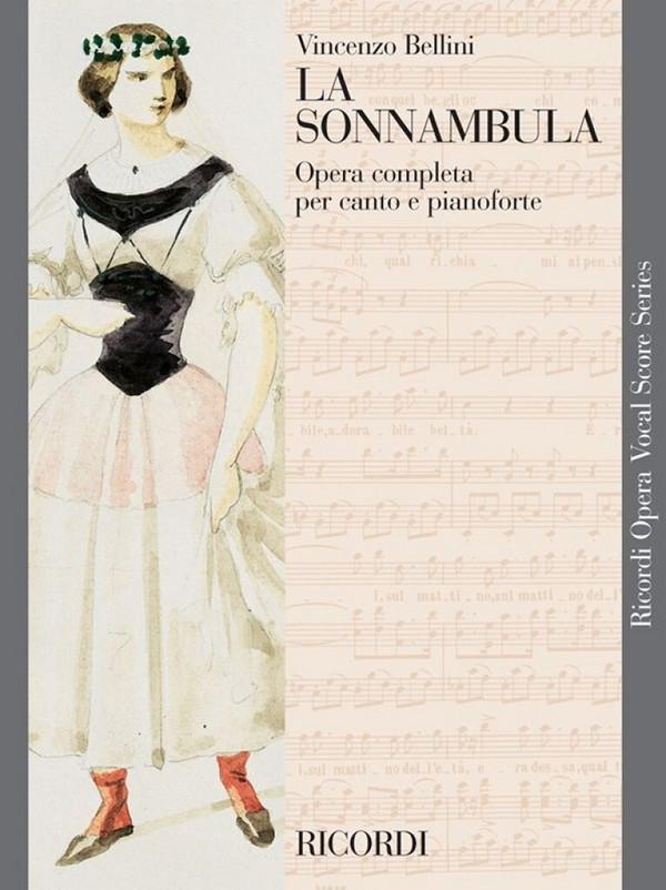 Bellini, Vincenzo - La sonnambula : Klavierauszug (it)