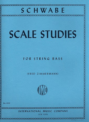Schwabe, Oswald - Scale Studies : for double bass
