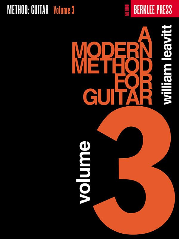 A modern Method for Guitar vol.3