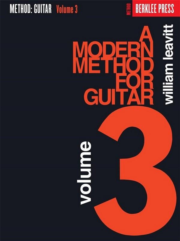 A modern Method for Guitar vol.3