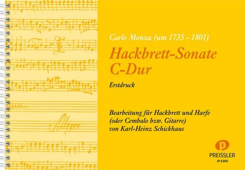 Monza, Carlo - Sonate C-Dur : für Hackbrett