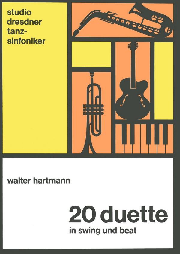 20 Duette in Swing und Beat: für Melodie-instrumente